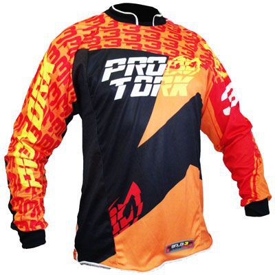 Camisa Off Road Piloto Baldi Signature Adulto ProTork