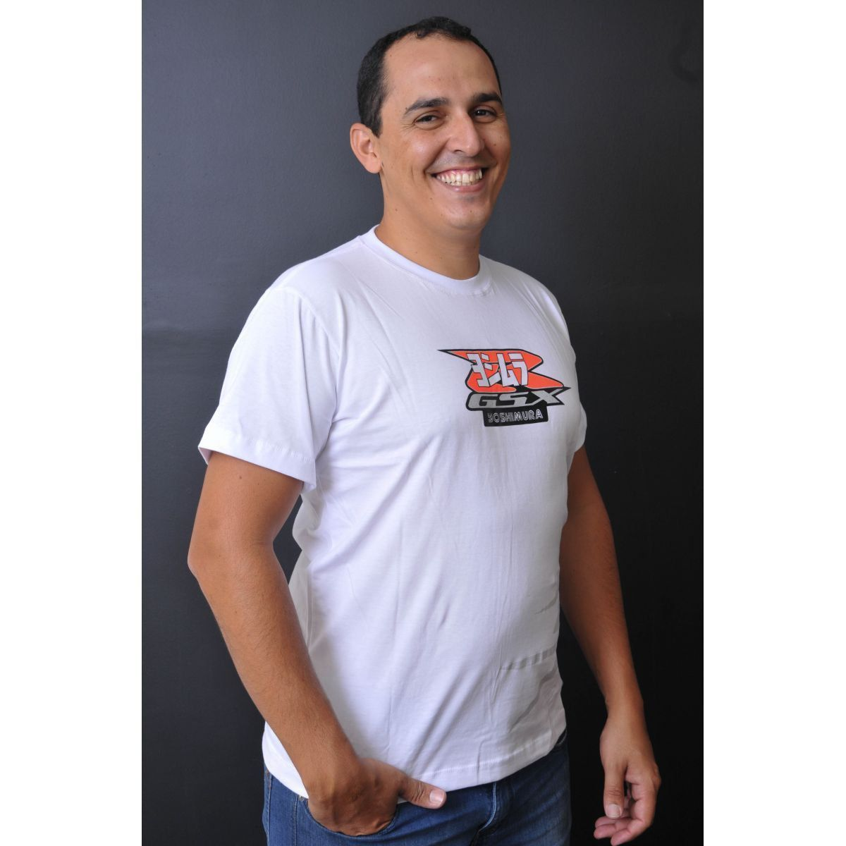Camiseta GSX 1300R Powered  - Motorshopp