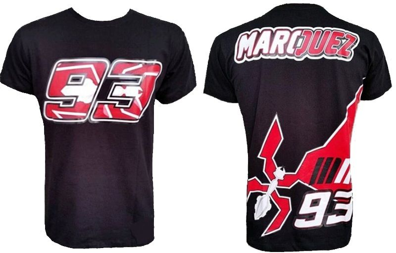 Camiseta Marc Marquez 93 Original Powered