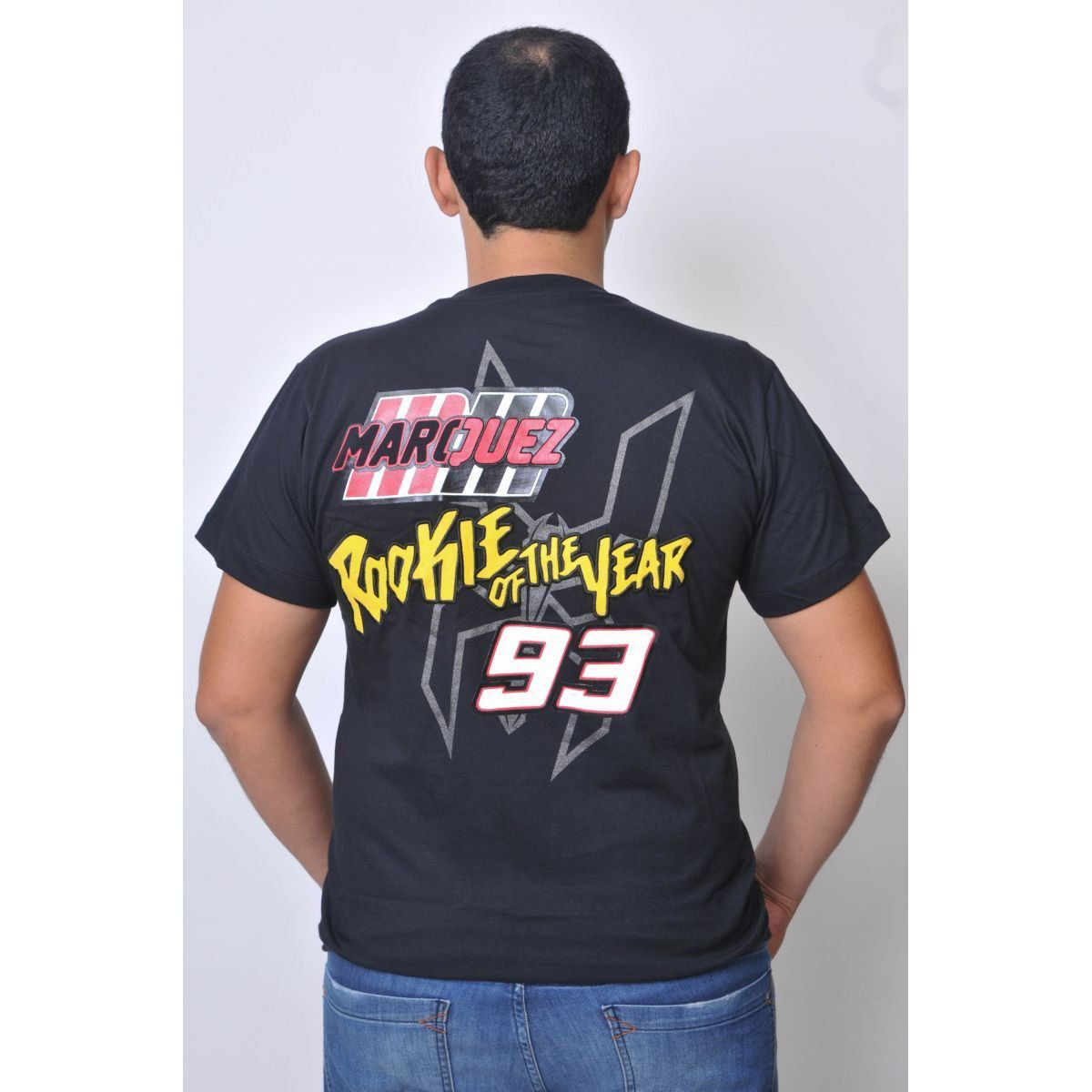 Camiseta Marc Marquez 93 Premium Powered  - Motorshopp