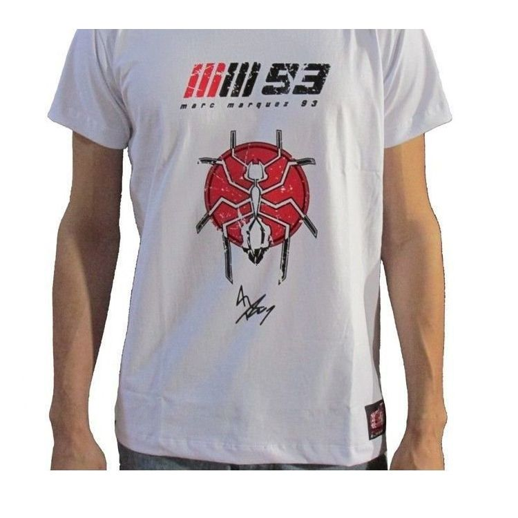 Camiseta Marc Marquez 93 Racing Light Powered  - Motorshopp