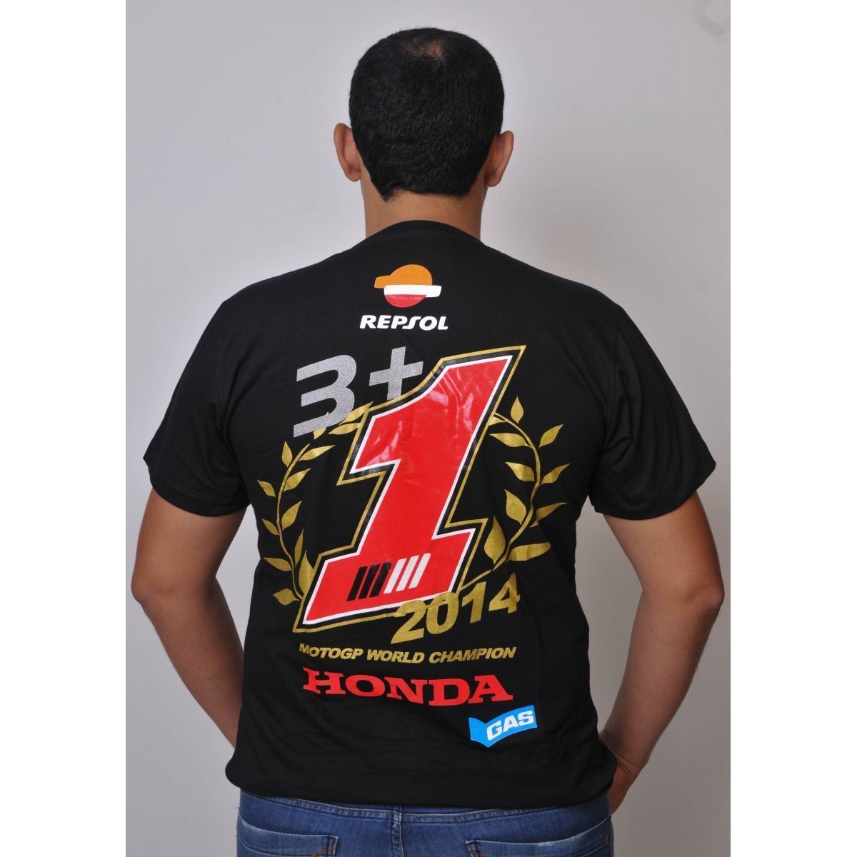 Camiseta Marc Marquez Champion Powered  - Motorshopp