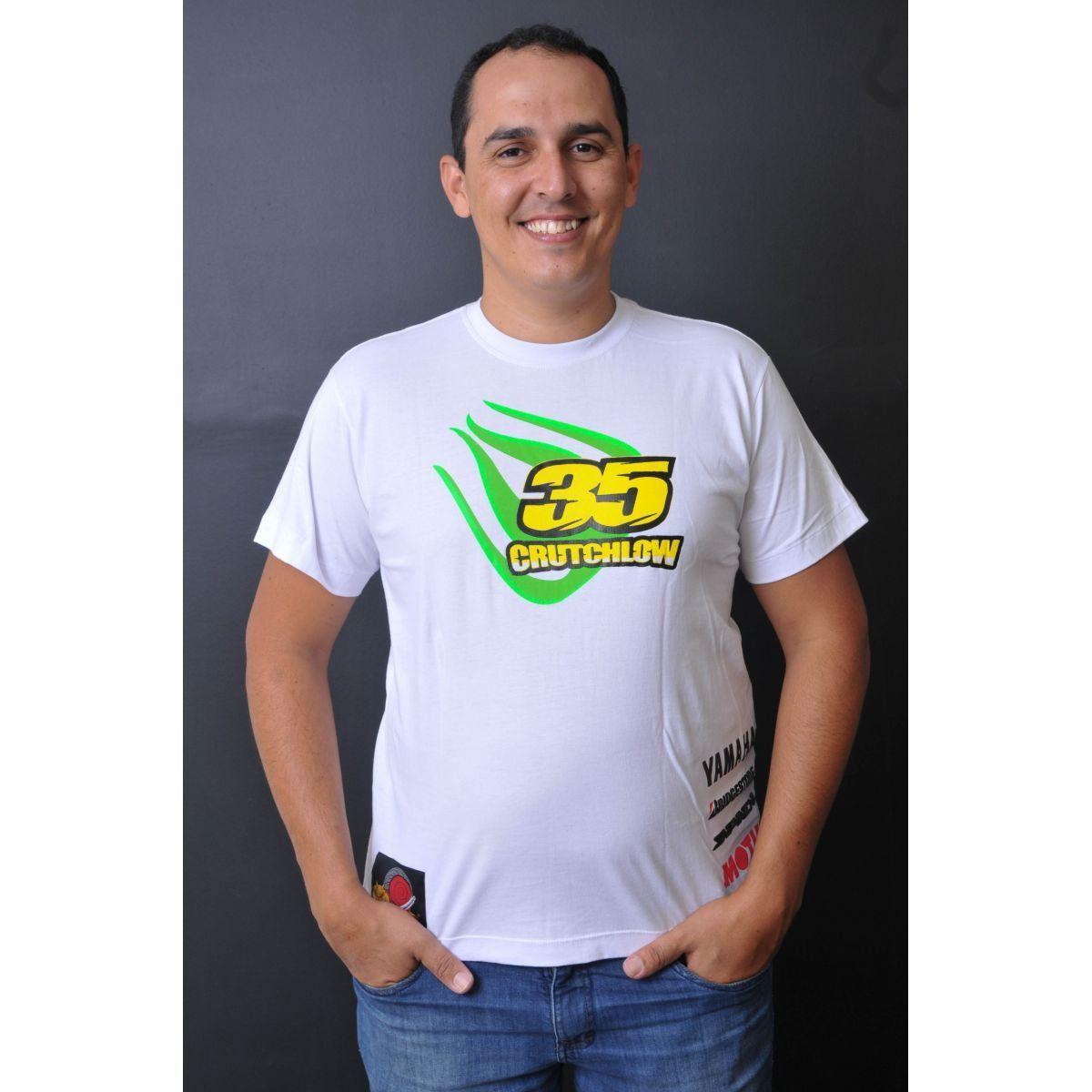 Camiseta Crutchlow Powered  - Motorshopp