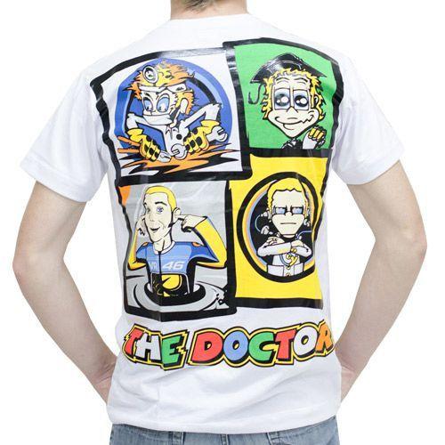 Camiseta The Doctor MotoGp Powered  - Motorshopp