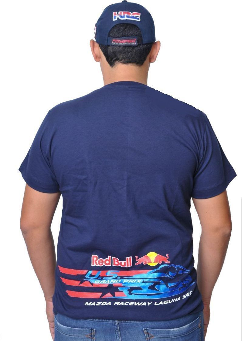 Camiseta Red Bull Original Powered  - Motorshopp
