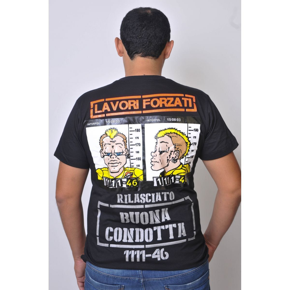 Camiseta Valentino Rossi The Doctor 46 Powered  - Motorshopp