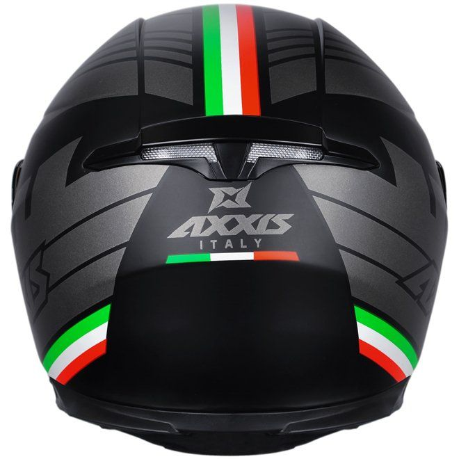 Capacete Axxis Eagle Italy Matt Black