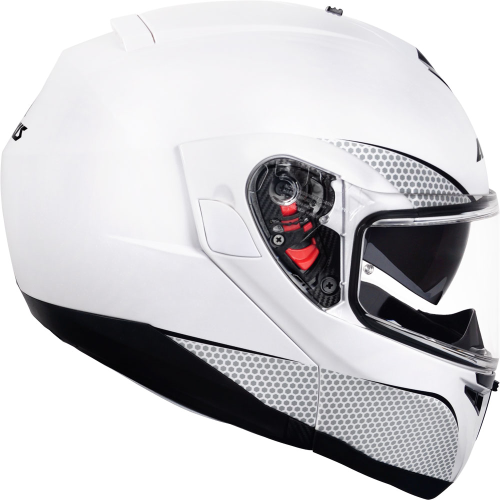 Capacete Escamoteavel Axxis Roc SV Solid White