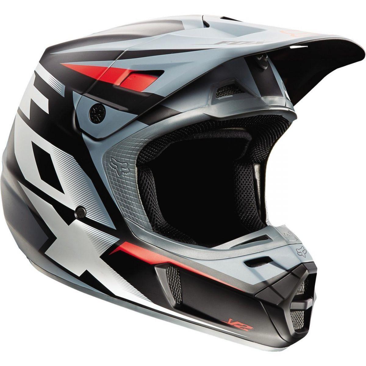 Capacete Fox V2 Matt  - Motorshopp