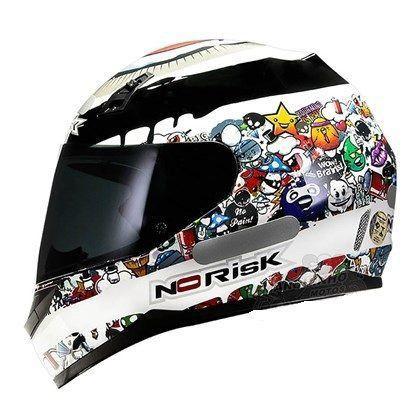 Capacete Norisk FF391 Stickers  - Motorshopp