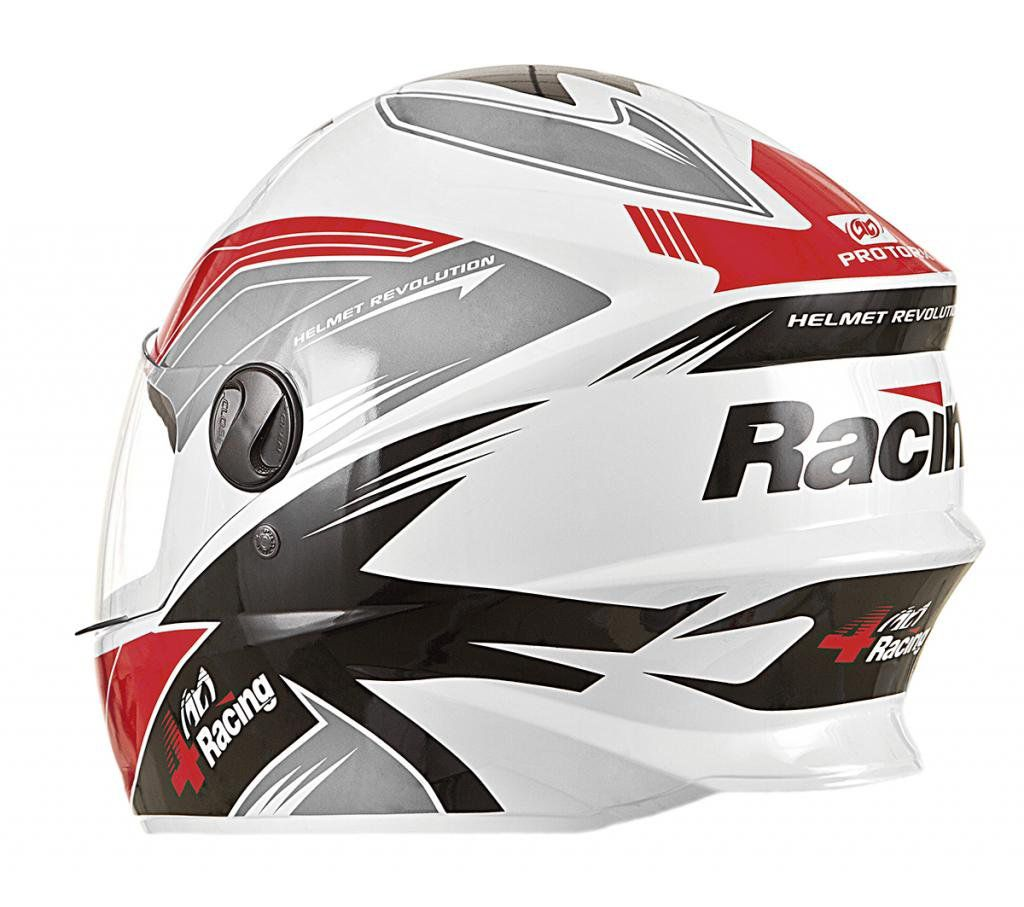 Capacete Pro Tork 4 Racing red and black