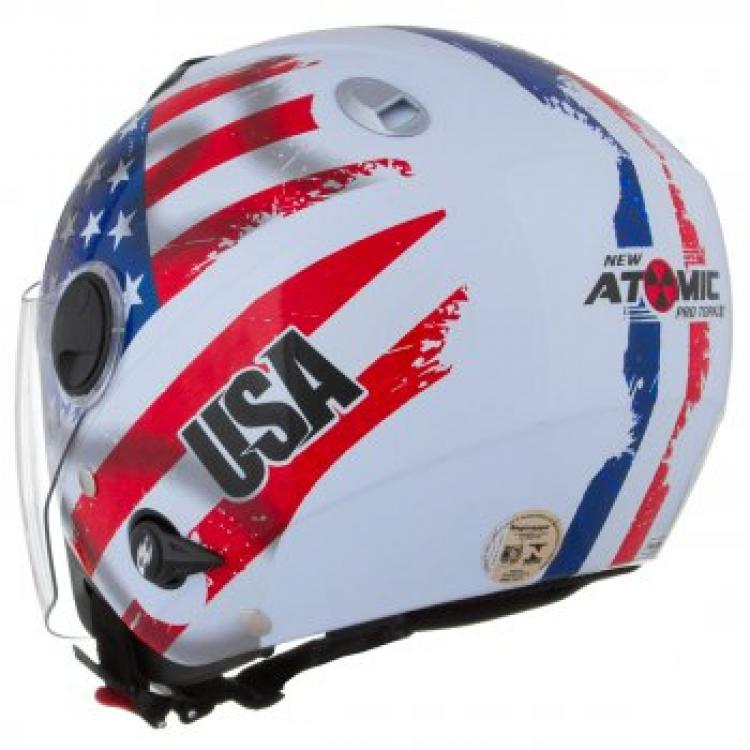 Capacete Tork Aberto New Atomic USA