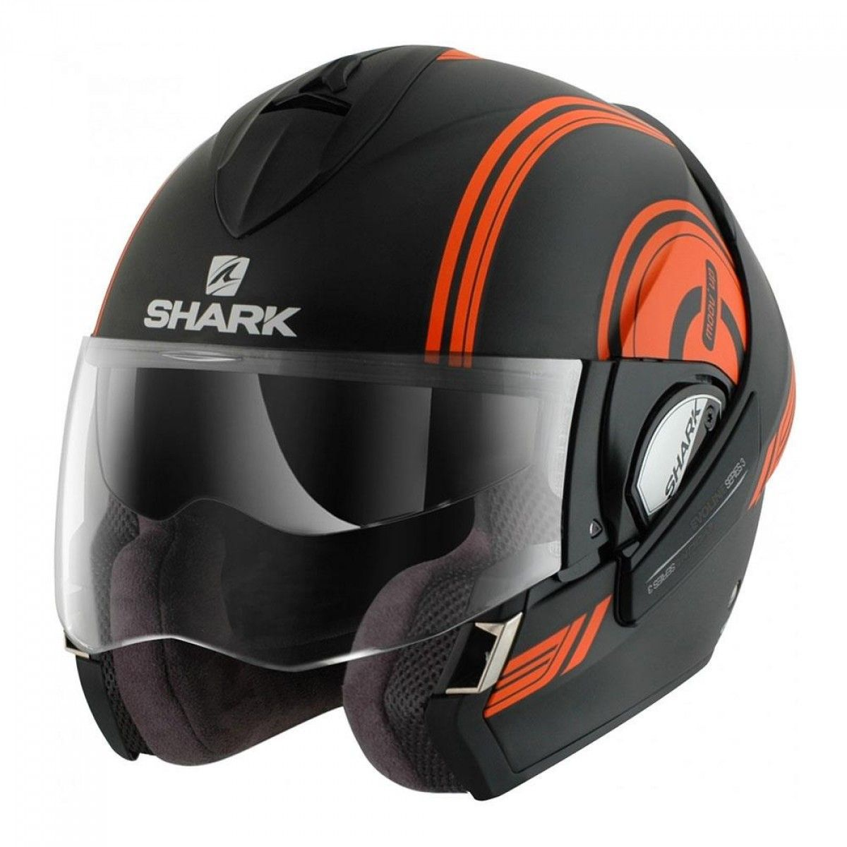 Capacete Shark Evoline Serie 3 Moov Up Matt KOK