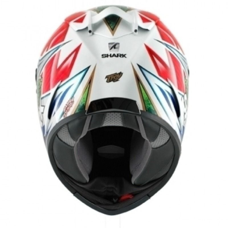 Capacete Shark Race R Pro Replica Troy Corser WRG