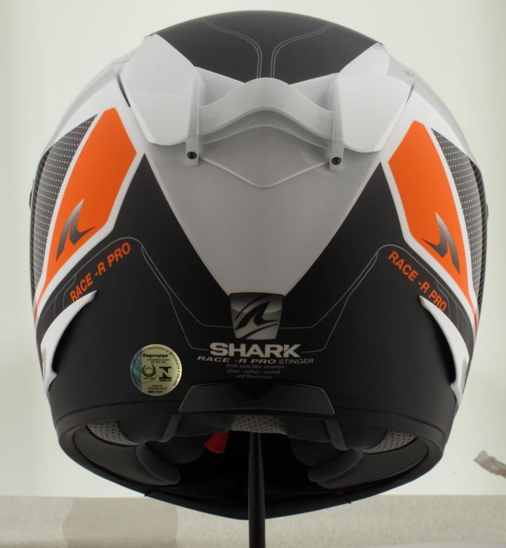Capacete Shark Race R Pro Pro Stinger WKO