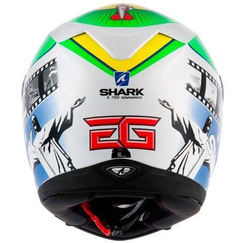 Capacete Shark S700 Replica Eric Granado KGY