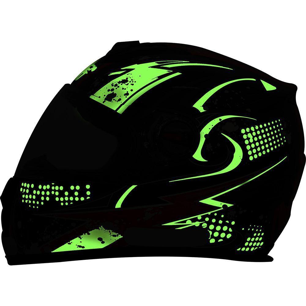 Capacete SSS Blackblade Luminii SS806  315 V1