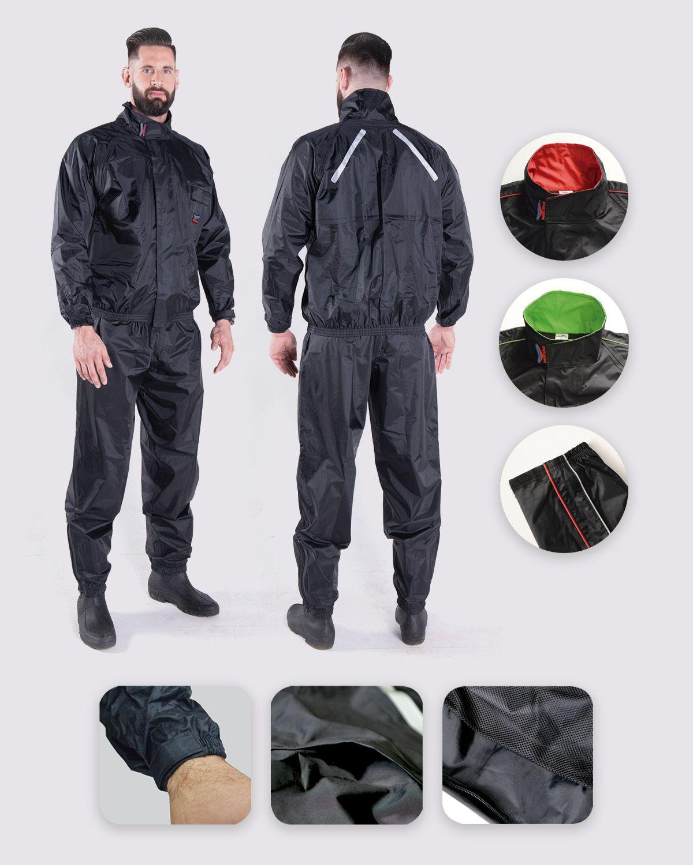 Capa de Chuva Masculina Nylon Confort