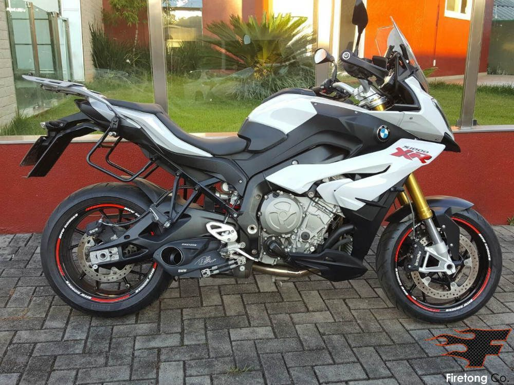 Escapamento Esportivo BMW S 1000 XR Willy Made Firetong  - Motorshopp