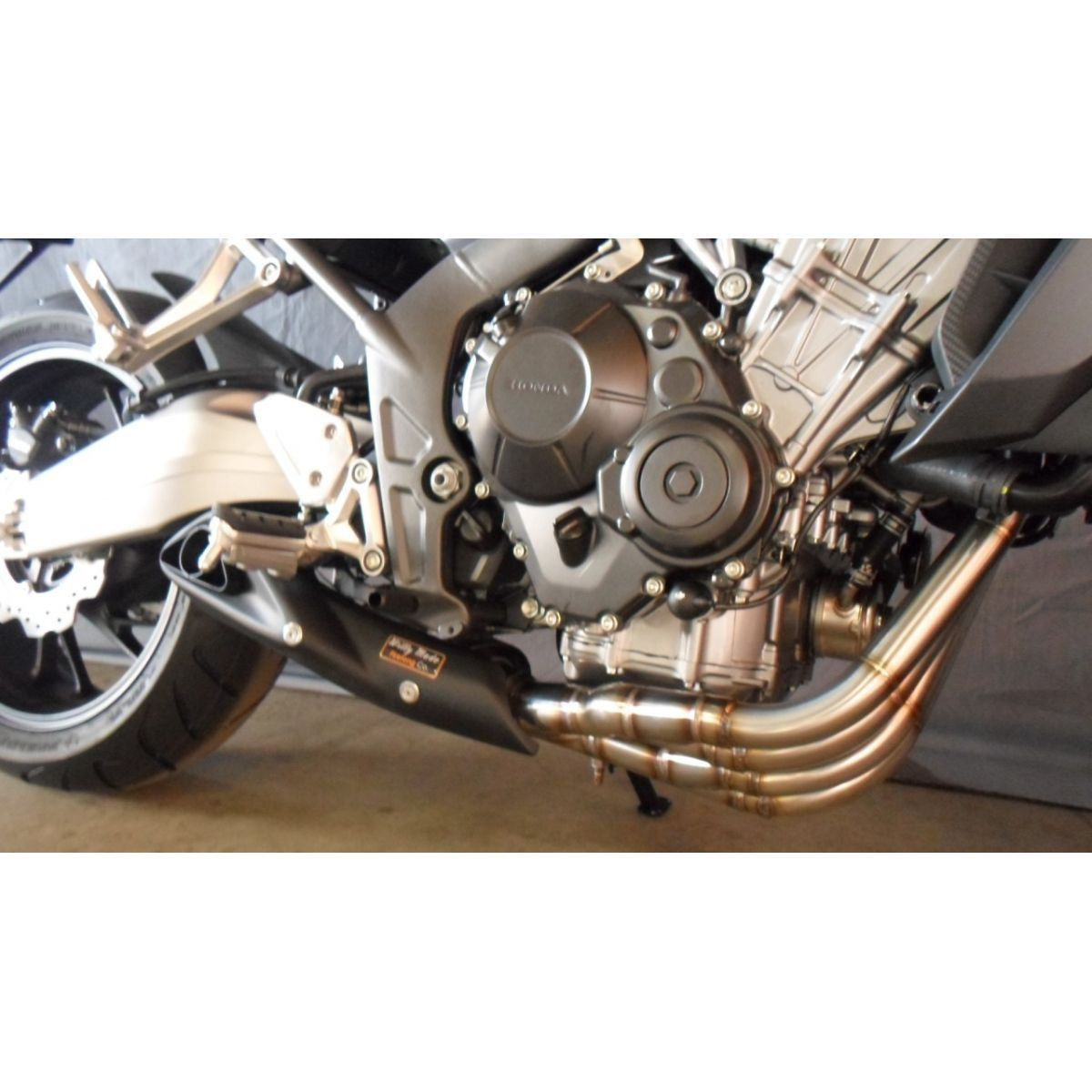 Escapamento Esportivo CB 650F 15/17 Willy Made Firetong  - Motorshopp