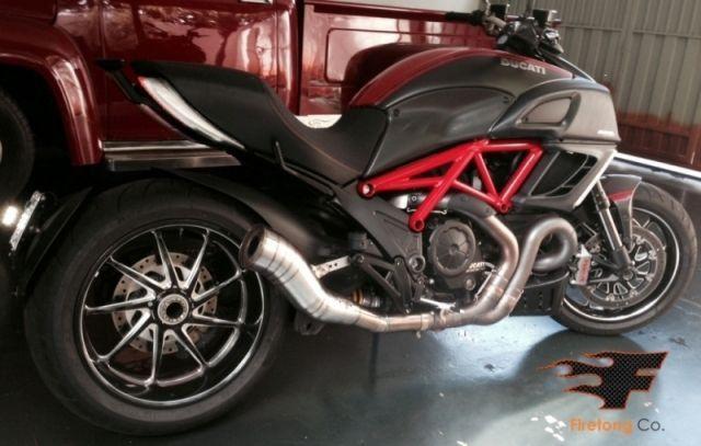 Escapamento Esportivo Ducati Diavel 11/17 Flame Firetong
