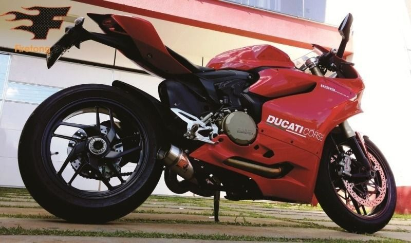 Escapamento Esportivo Ducati Panigale 1199 Flame Firetong  - Motorshopp