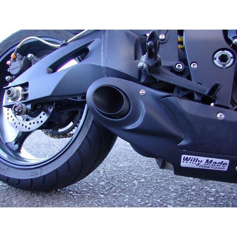 Escapamento Esportivo Suzuki GSXR 750 07/09 Willy Made Firetong  - Motorshopp