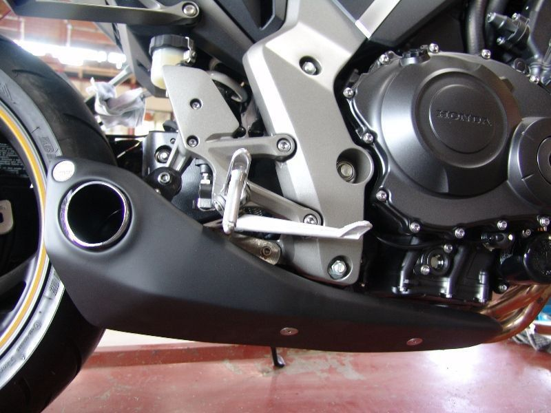 Escapamento Esportivo CB 1000R 11/16 Willy Made Firetong  - Motorshopp