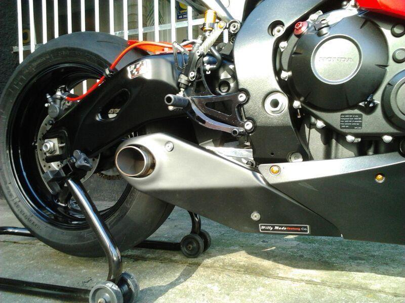 Escapamento Esportivo CBR 1000RR 08/11 Willy Made Firetong  - Motorshopp