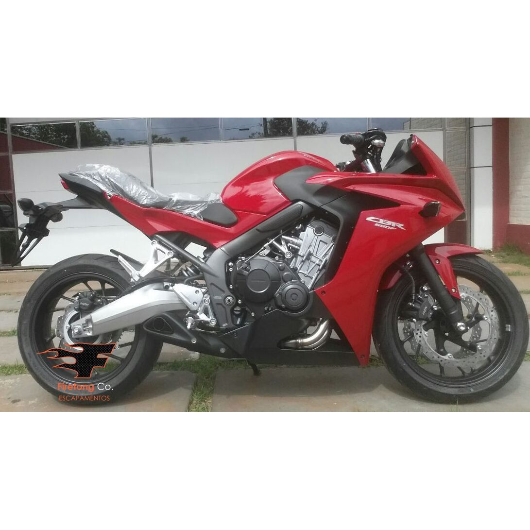 Escapamento Esportivo CBR 650 15/17 Willy Made Firetong  - Motorshopp