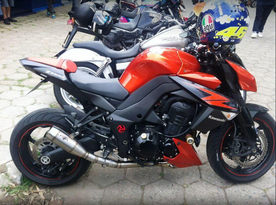 Escapamento Esportivo Kawasaki Z1000 10/13  Flame Firetong