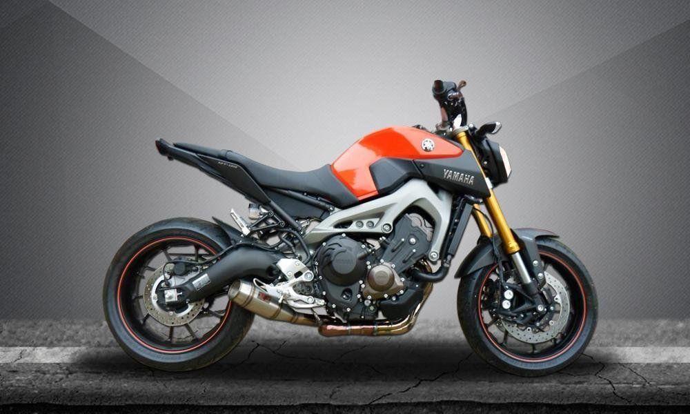 Escape Esportivo MT09 Flame Firetong  - Motorshopp