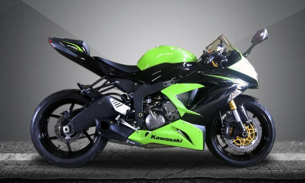 Escape  ZX-6R 636 Willy Made Firetong