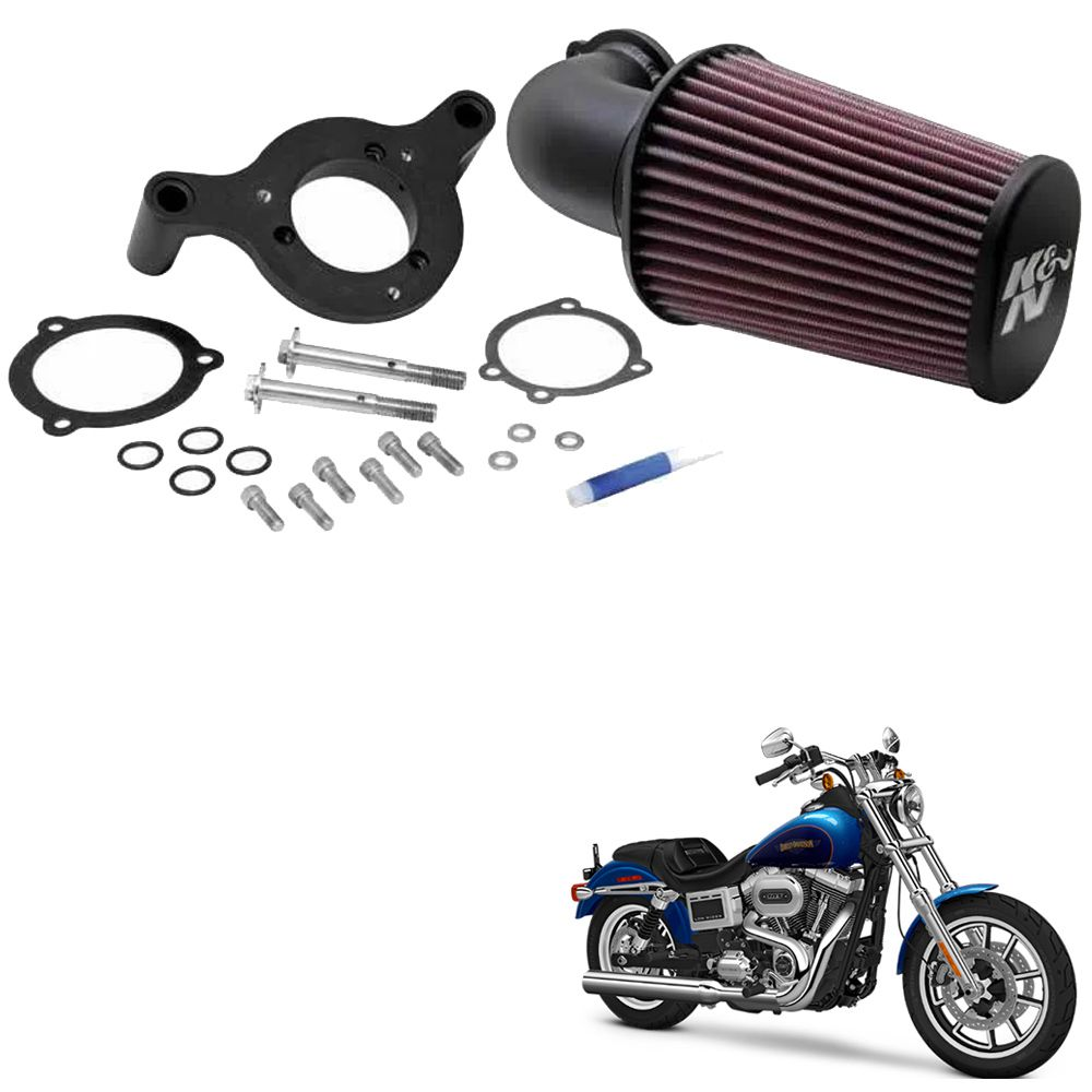 Filtro de Ar Harley Davidson Dyna K&N 631125  - Motorshopp