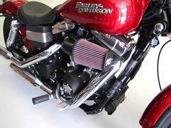 Filtro de Ar Harley Davidson Rocker K&N 631125  - Motorshopp