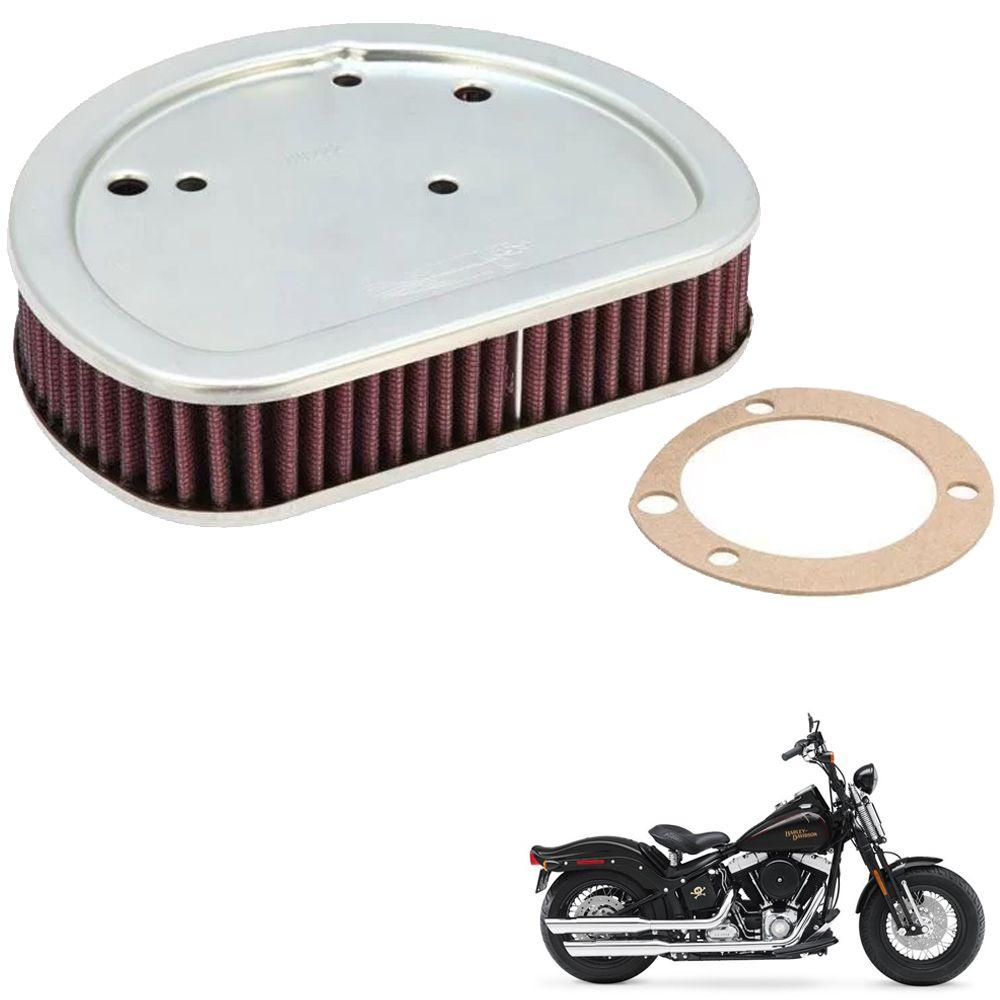 Filtro de Ar Harley Softail Crossbones 08/11 K&N HD1611  - Motorshopp