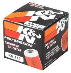 Filtro de Óleo XR 250   650 K&N KN112  - Motorshopp