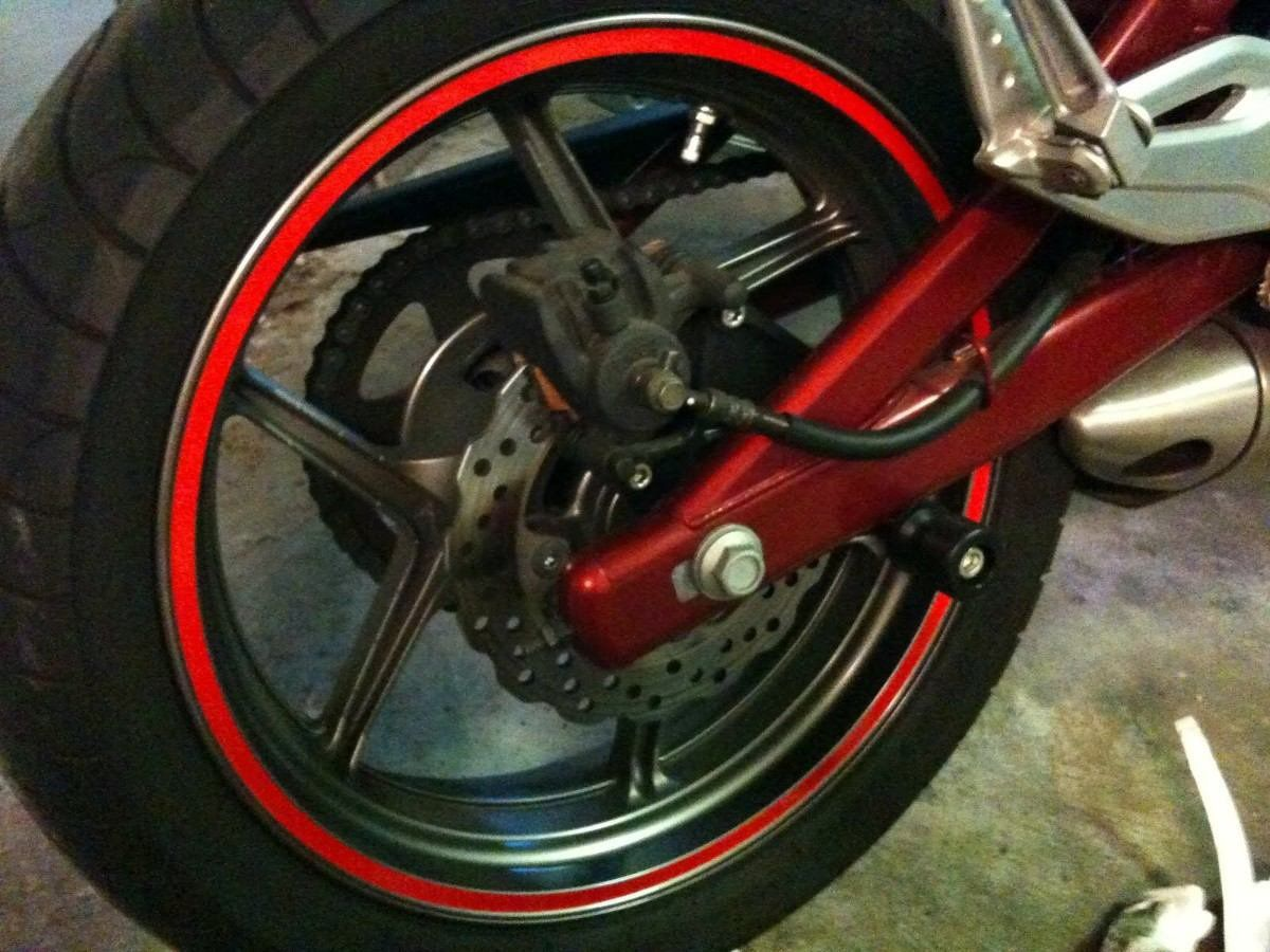 Adesivo Friso de Roda Protector  - Motorshopp