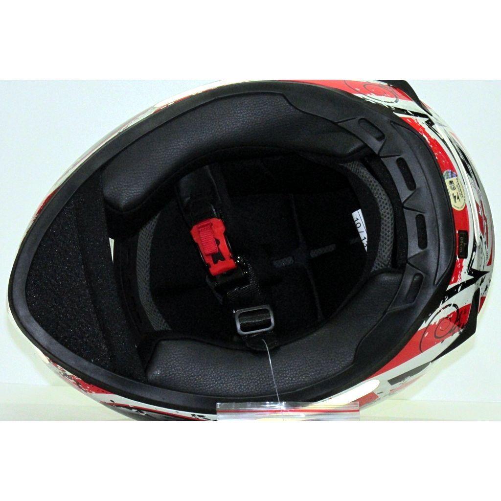 Capacete SSS Blackblade Luminii SS806  307 V2