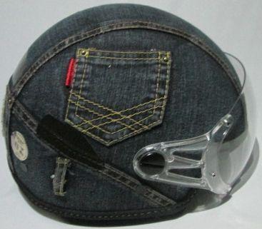 Capacete Jeans Plus Personalizado Kraft