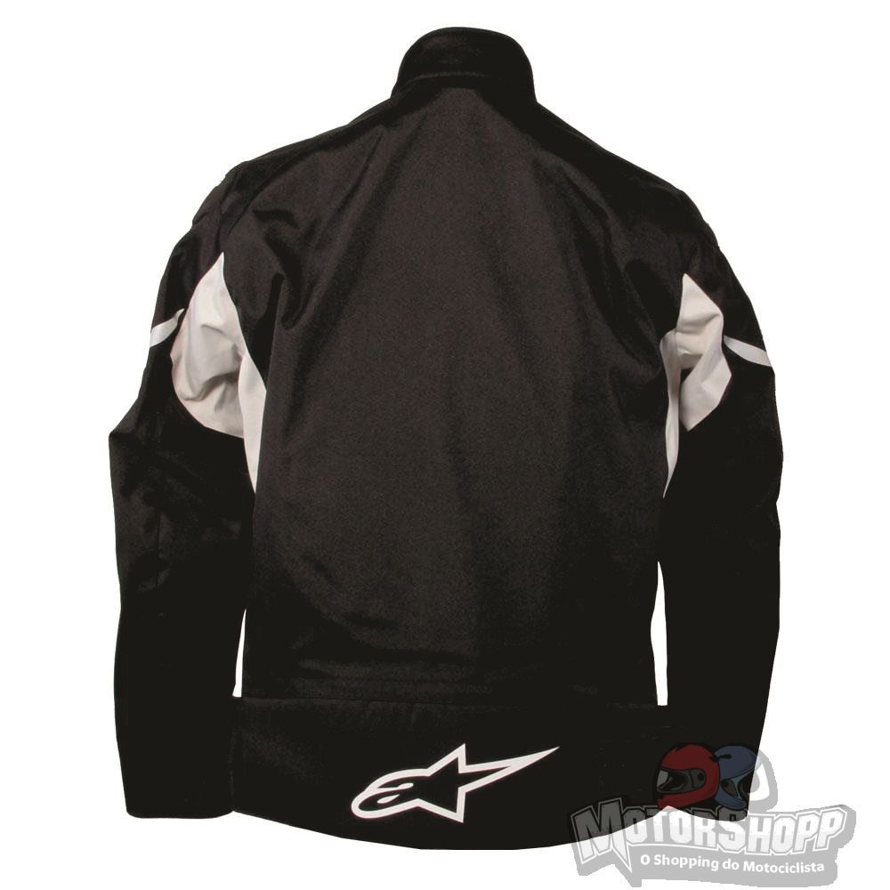 Jaqueta Alpinestars Alux Wp Black Ice White