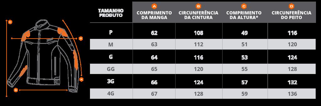 Jaqueta Guard 2 Nylon Preto X11  - Motorshopp