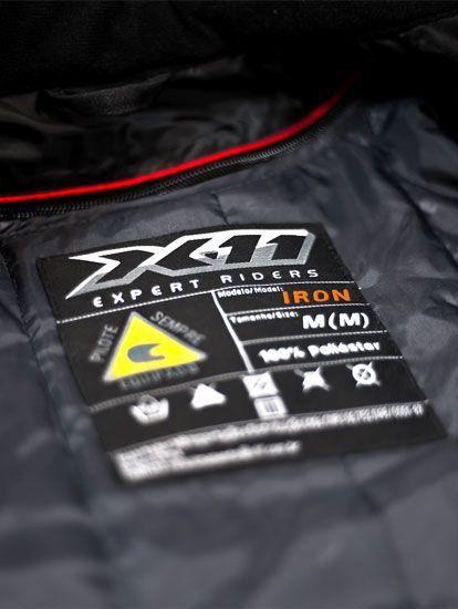Jaqueta Motociclista X11 Iron