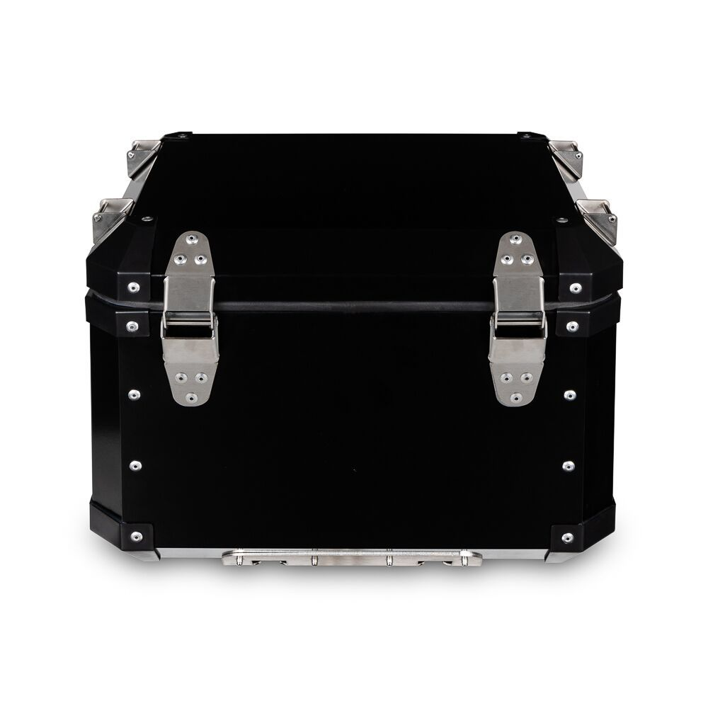 Kit Bauletos 43L V-Strom DL 1000 Aluminio Preto Bráz