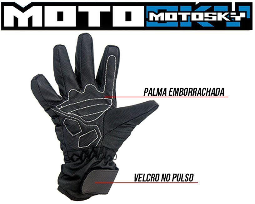 Luva Impermeável Full Motosky  - Motorshopp