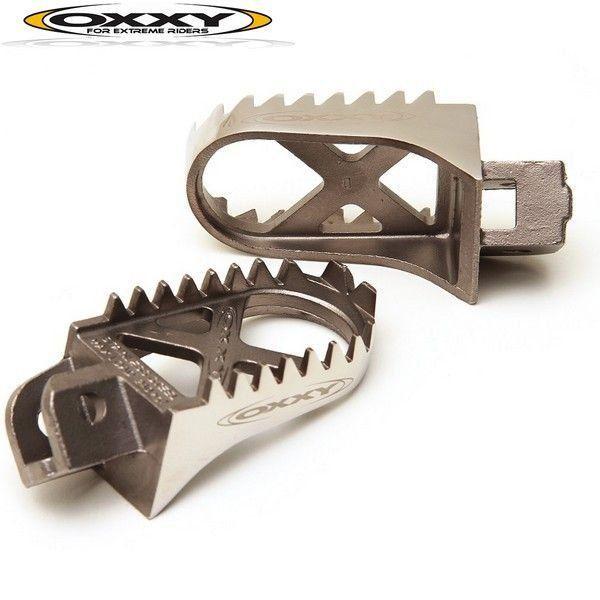 Pedaleira Oxxy Off Road Aço Inox TTR230 125 XT 660  - Motorshopp
