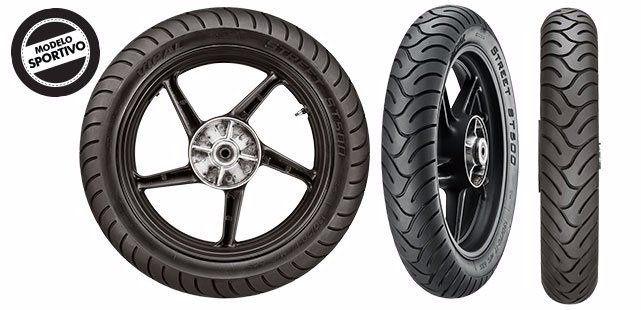 Pneu 100/80R17 Dianteiro Twister 250 Fazer 250 Vipal ST500
