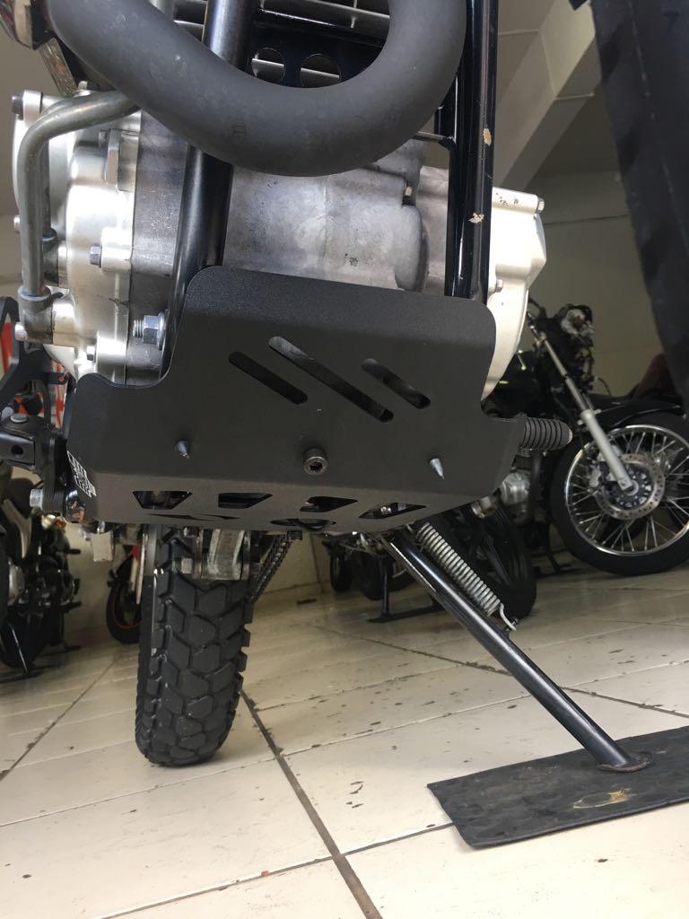 Protetor de Carter Tenere 250 Lander 250 Bráz