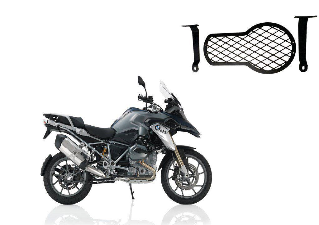 Protetor de Farol R 1200 GS Premium 13/... Gradeado Bráz  - Motorshopp