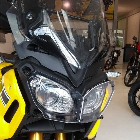 Protetor de Farol Super Tenere 1200 Acrílico Start Racing  - Motorshopp